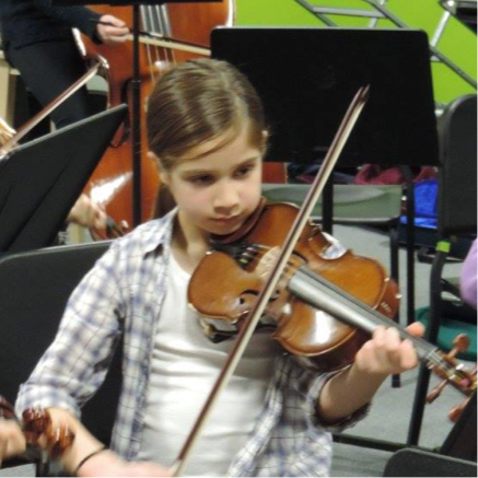 Stockport Youth Orchestra in rehearsals.